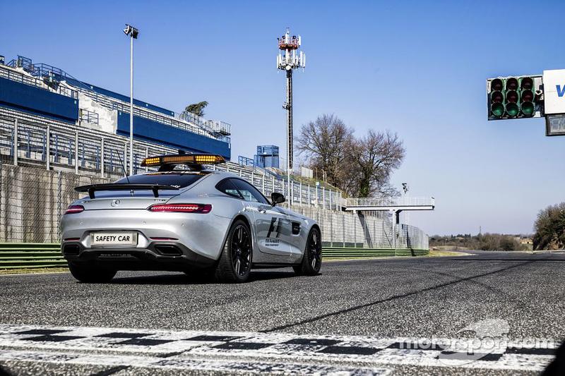 Mercedes-AMG GT S машина безпеки