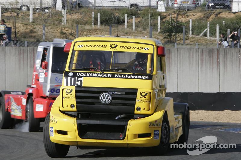 #105 Deutsche Post World Net Truckteam VW Volkswagen: Ralf Druckenmuller