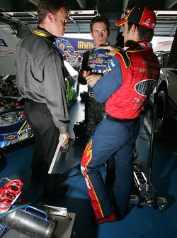 Brian Vickers and Jeff Gordon
