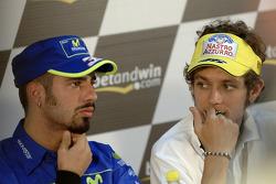 Conferencia de prensa: Marco Melandri y Valentino Rossi