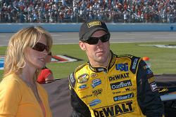 Matt Kenseth and wife Katie