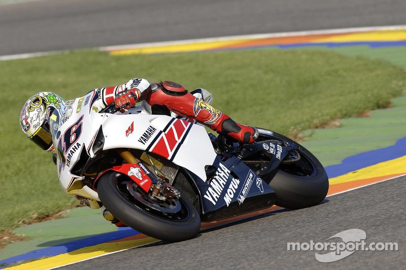 Gauloises Yamaha - Valentino Rossi (Yamaha) - MotoGP Valencia 2005