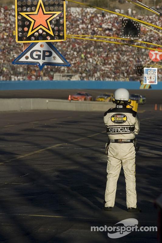 Un officiel de la NASCAR