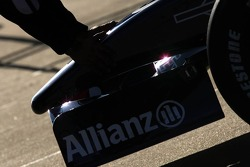 Front end of the Williams