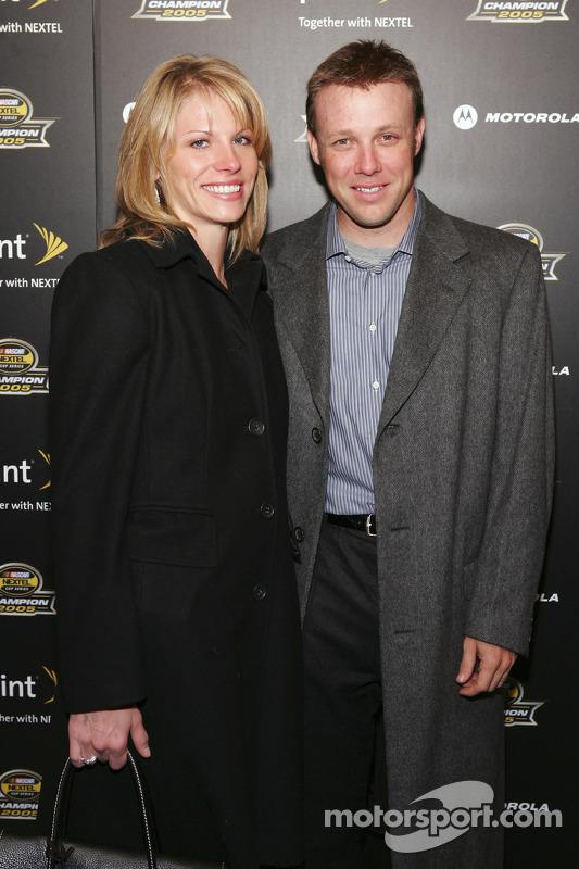 Matt Kenseth arrive à la fête du NASCAR en 2005