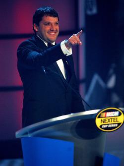 NASCAR Nextel Cup Awards Banquet at the Waldorf Astoria Hotel: Tony Stewart
