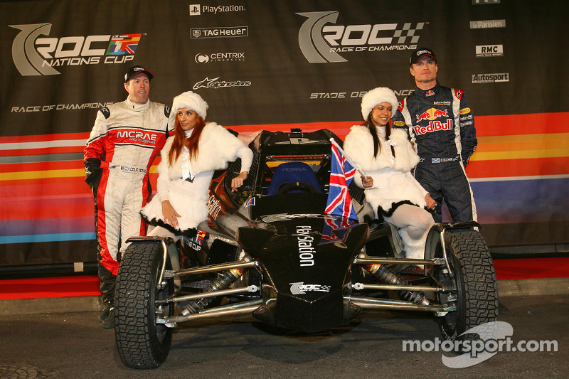 Great Britain Nations Cup team Colin McRae and David Coulthard
