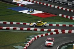 Semi final: Sébastien Bourdais and David Coulthard