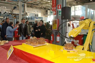 Ferrari Christmas party
