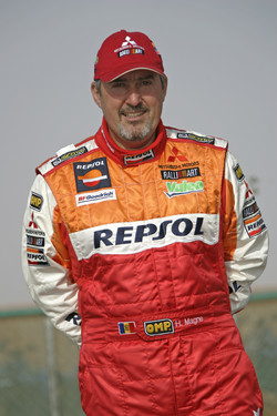 Team Repsol Mitsubishi Ralliart: Henri Magne.