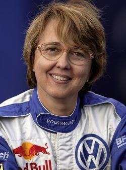 Volkswagen Motorsport: Fabrizia Pons, co-driver for Jutta Kleinschmidt