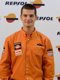 Team Repsol presentation in Lisbon: Jordi Viladoms