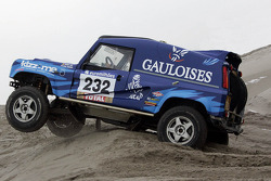 Bowler Off Road team: Freddy Loix and Eric Verhoef test the Bowler