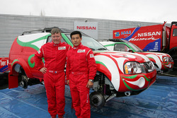 Team Nissan Dessoude presentation: Denis Schurger and Zhou Yong