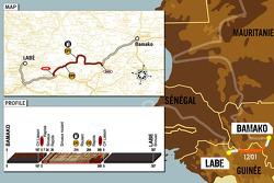 Stage 12: 2006-01-12, Bamako to Labé