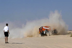 Team Dakar Sport: Rick Aarts and Roland Rypma roll the Team Dakar Sport Bowler