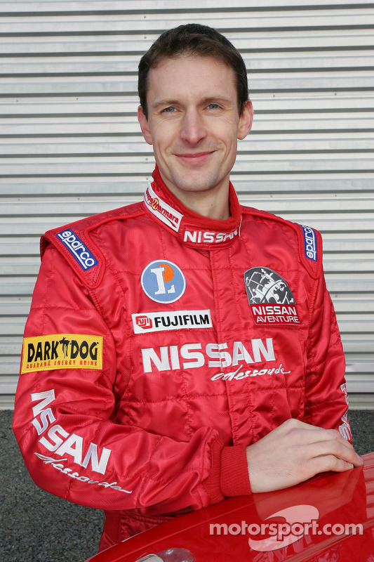 Présentation publique de l'équipe Nissan à Dessoude: Sylvain Poncet
