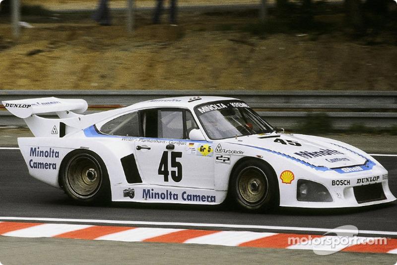 #45 Porsche Kremer Racing Porsche 935 K3: Axel Plankenhorn, Philippe Gurdjian, John Winter