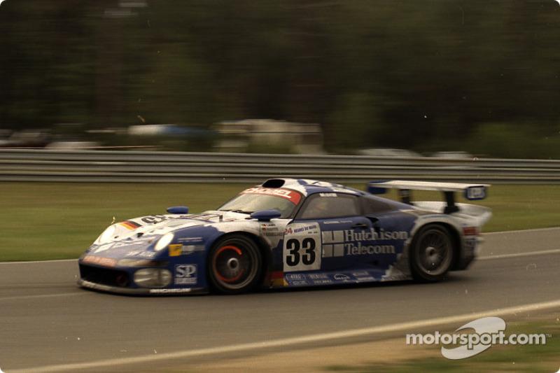 #33 Schnabel Engineering Porsche 911 GT1: Armin Hahne, Pedro Lamy, Patrice Goueslard