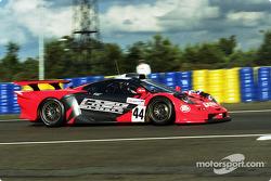 #44 Team Lark McLaren McLaren F1 GTR BMW: Keiichi Tsuchiya, Gary Ayles, Akihiko Nakaya