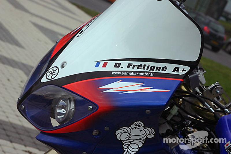 Yamaha Motor France: détail de la Yamaha WR450F