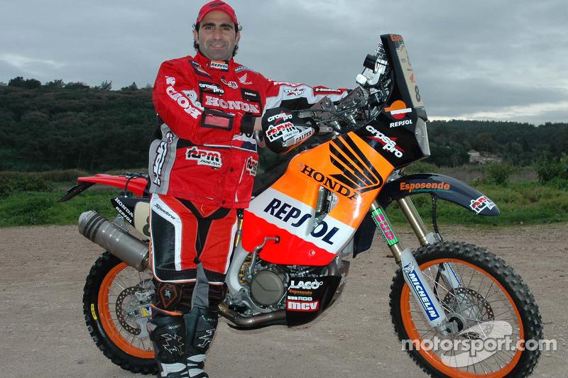 Equipe Repsol Honda: Paulo Goncalves