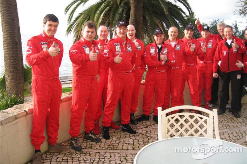 Les membres de l'équipe Exact-MAN