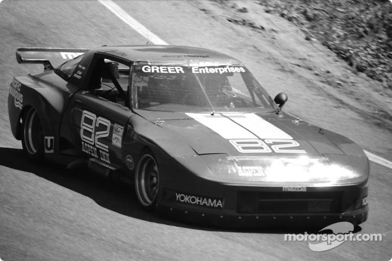 #82 Greer Mazda RX-7: Dick Greer, Dennis Shaw