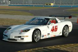 #46 Michael Baughman Racing Corvette: Michael Baughman, Ray Mason