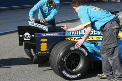 Detail of the new Renault R26