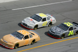 Bill Elliott, David Stremme and Jeff Gordon
