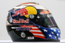 Helmet of Scott Speed