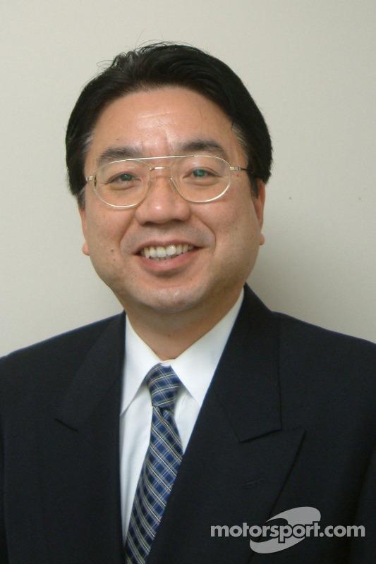 Yoshiaki Kinoshita, General Manager, Motor Sport Division (Toyota Motor Corporation) le vice-président exécutif (Toyota Motorsport GmbH)