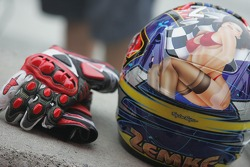 Jake Zemke's Helmet