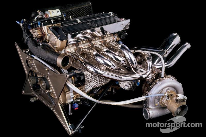 BMW M12/13 Formula-1-turbocharged engine 1983, World Champion in ...