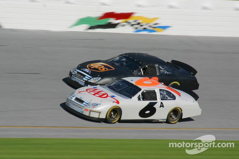 Mark Martin y Dale Jarrett