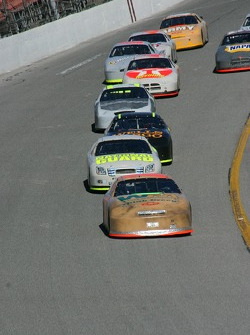 Sterling Marlin leads the pack
