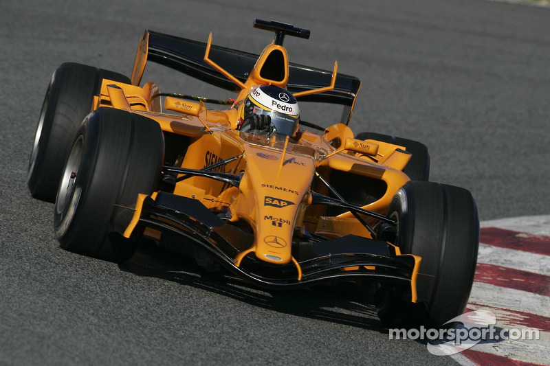 McLaren MP4-21 (Wintertests 2006)