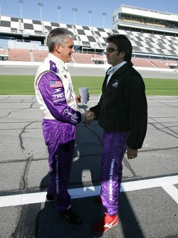 Eddie Cheever and Christian Fittipaldi