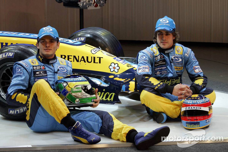2006 - Renault - Fernando Alonso 134 X 72 Giancarlo Fisichella