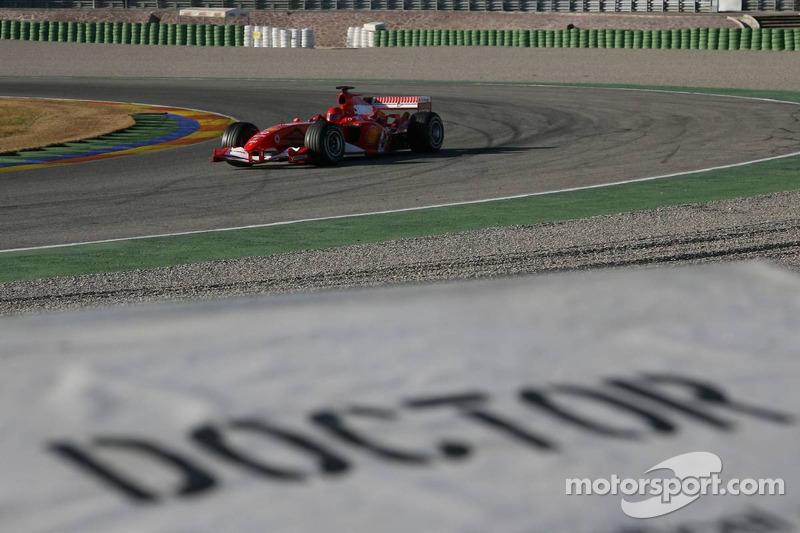 На тестах Формулы 1, 2006