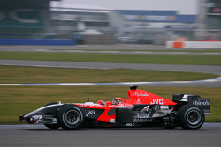 Christijan Albers tests the MF1 Racing M17