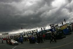 Menacing sky over Daytona