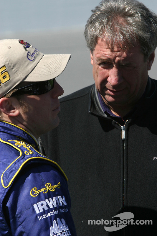 Jamie McMurray et Jimmy Fennig