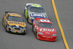 Dale Earnhardt Jr., Matt Kenseth and Jimmie Johnson