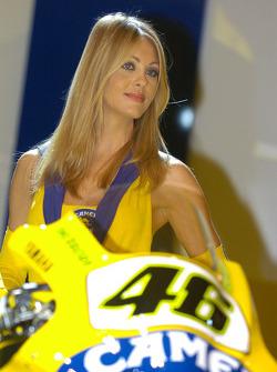 A lovely Camel Yamaha girl