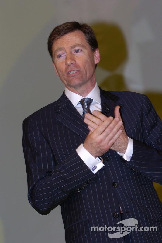 Le directeur général de Yamaha Motor Racing Lin Jarvis