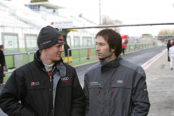 Mattias Ekström and Heinz-Harald Frentzen