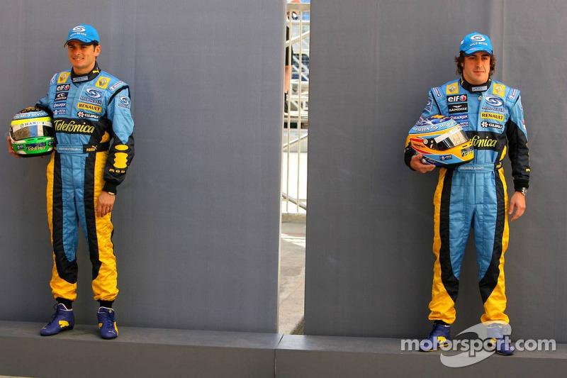2005-2006 - Renault: Giancarlo Fisichella