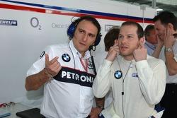 Gianpaolo Dallara and Jacques Villeneuve